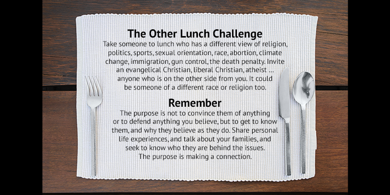 Image for The Other Lunch Challenge