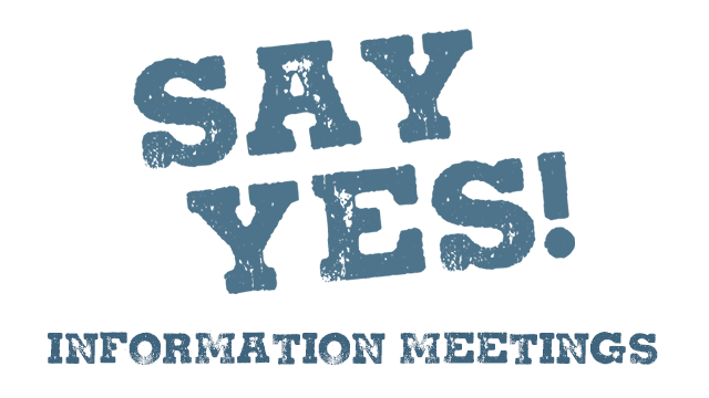 photo for Say Yes to the Future! Information Meeting