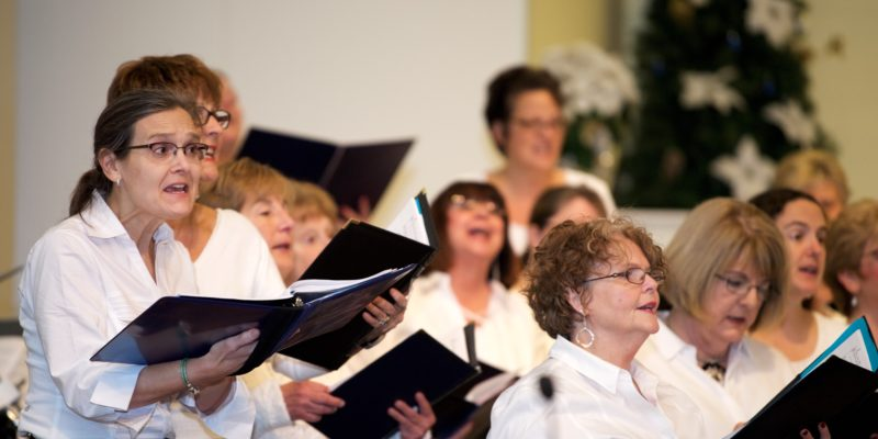 Image for Make a joyful noise and join one of our choirs