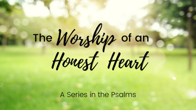 Image for The Worship of an Honest Heart: When I Kept Silent