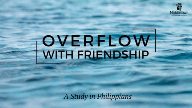 Image for Overflow with Friendship