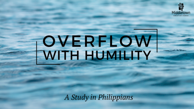 Image for Overflow with Humility