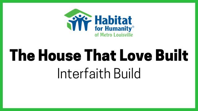 photo for Interfaith Build: Raise the Roof