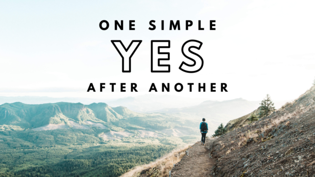 Image for One Simple Yes After Another