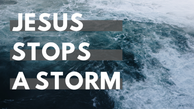Image for Jesus Stops A Storm