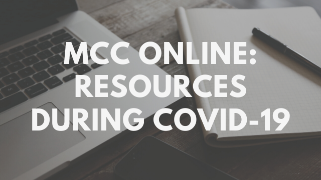 photo for MCC Online: Church Resources During COVID-19