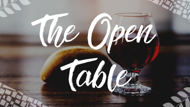 Image for The Open Table