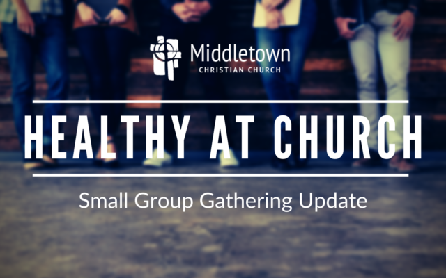 photo for Healthy at Church: Small Group Gathering Update