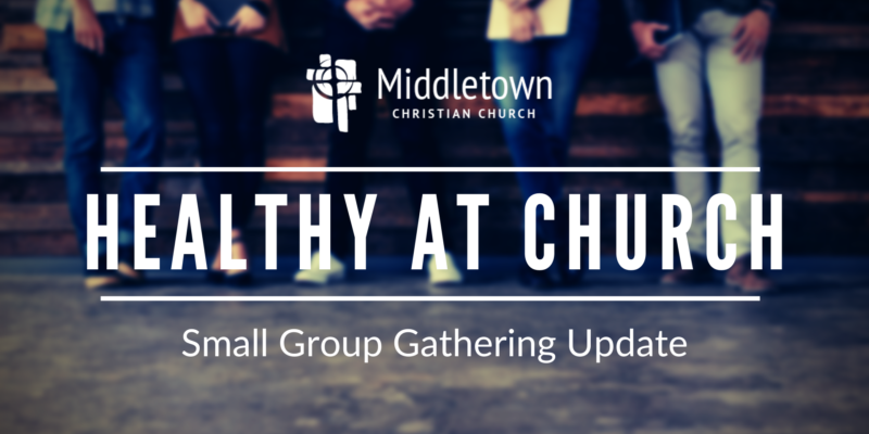 Image for Healthy at Church: Small Group Gathering Update