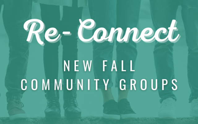 photo for Fall Community Group Sign-Ups