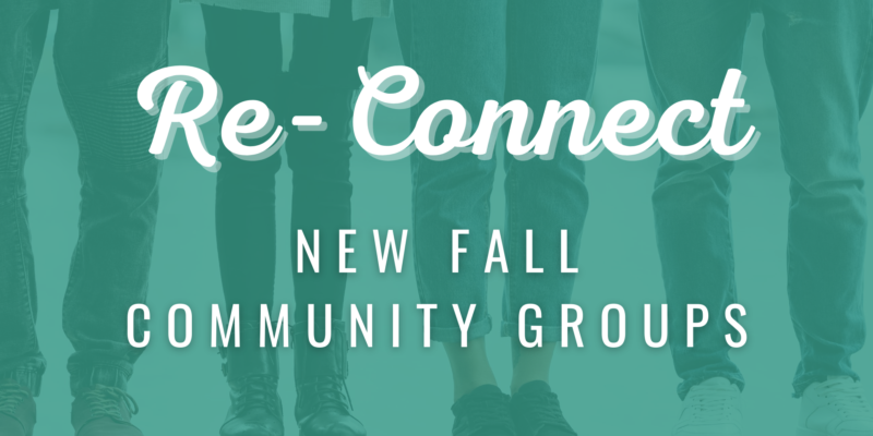 Image for Fall Community Group Sign-Ups