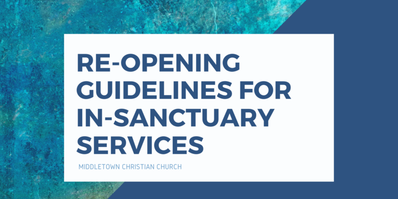 Image for Re-Opening Guidelines for In-Sanctuary Services