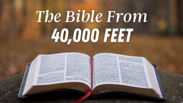 Image for The Bible from 40,000 Feet: The New Testament