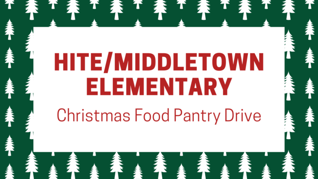 photo for Hite/Middletown Elementary Christmas Food Pantry Drive