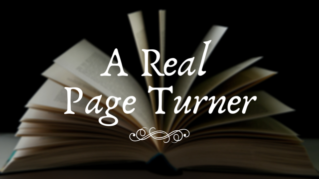 Image for A Real Page Turner