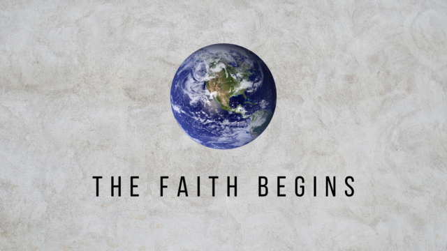 Image for The Faith Begins