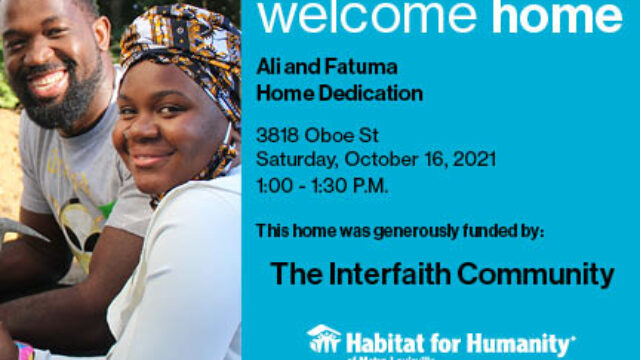 photo for Interfaith Build Home Dedication